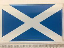 Alba Scotland Saint Andrew's Cross (The Saltire) flag sticker peel off vinyl