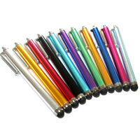 10x Universal Metal Touch Screen Pen Stylus For iPhone iPad Tablet Phone FT