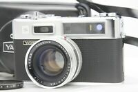 RARE  [TOP MINT]  Yashica Electro 35 G Rangefinder 45mm f/1.7 w/ Case from Japan