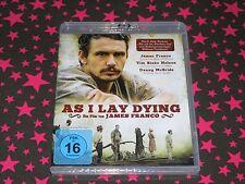 AS I LAY DYING-Blu ray-JAMES FRANCO-Romanverfilmung-WILLIAM FAULKNER-Film-Drama