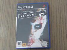 JEU PLAYSTATION 2 PS2   MANHUNT  EN FRANCAIS