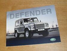 LAND Rover Defender BROCHURE COMPLETA 2008-2009 - 90 110 PICK UP STATION WAGON