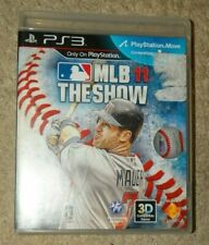(PS3) MLB 11 THE SHOW (3D compatible game) - VG condition!!