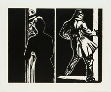 Richard Bosman : Double Trouble, 1983. Signed, Numbered, Fine Art Print