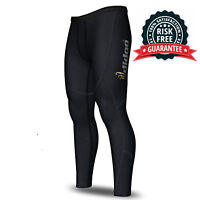 Mens Thermal Compression base layer pants running skin tight cold wear leggings
