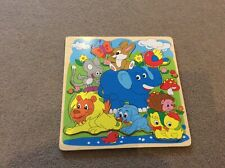 Wooden Animal Jigsaw Puzzle