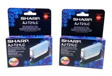 NEW (2 Pack) Sharp AJ-T21LC Ink Tank Cartridge (Photo Cyan)