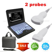 Portable Full Digital Laptop Ultrasound Scanner Machine, Convex &Linear 2 Probes