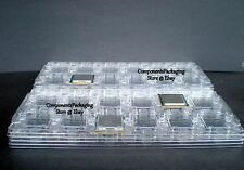 CPU Tray for LGA1366 Xeon & Core i7 Processor - Anti Static - Qty 4 fits 48 CPUs