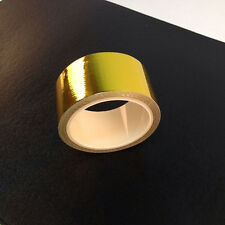 REFLECT-A-GOLD TAPE -2'' x 15' Roll -HIGH TEMPERATURE HEAT REFLECTIVE Wrap New