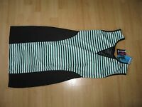 Bloose size S / 10 dress bodycon mint and black ladies women BNWT