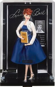 Barbie Signature Lucille Ball I LOVE LUCY Tribute Collection Doll Blue Dress