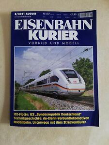 Eisenbahn Kurier EK August 2021 08/2021