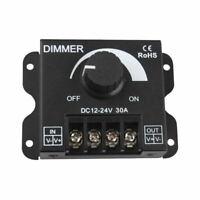 12V 30A Adjustable LED Dimmer Knob Controller for Single Color Strip Lig MCG