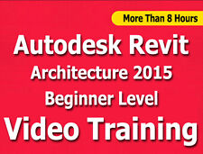 Learn Autodesk Revit Architecture 2015 Video Training Tutorials CBT Level 1
