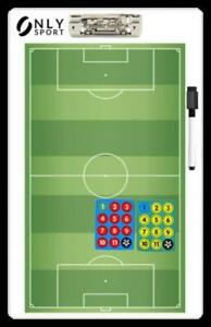 COACHES BOARD MAGNETIC Soccer Football full pitch