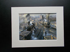 RAILWAY PRINTS - FREIGHT OVER THE TYNE