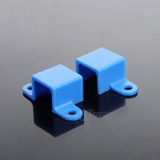 5pcs Blue Block N20 Motor Mounting Base Bracket For Aircraft Helicopter Car Toy