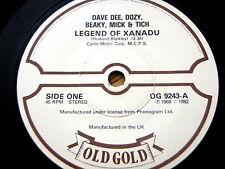 DAVE DEE, DOZY, BEAKY, MICK & TICH - LEGEND OF XANADU / ZABADAK