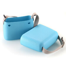 Women Ladies Shoulder Beach Bag Silicone Shopper Tote Purse Handbag Picnic Sport