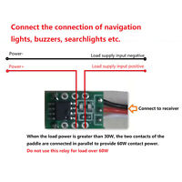 For RC Airplane Boat Model PWM Controller LED K3 Relay Switch 1A 1 Channel Servo