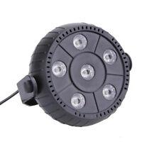 9W Lichteffekt LED RGB DMX 512 Disco kugel Disco DJ Strahler PAR Showlaser neu