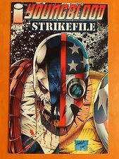YOUNGBLOOD. Strikefile. 2 July 1993. Image. Malibu Comics Canada (En Anglais)