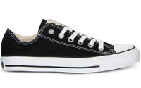 Converse Unisex All Star Ox Sneakers, Black