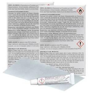 Blue Magic 2x PVC Reparaturset für Wasserbetten Vinylreparatur Flickset 12 ml
