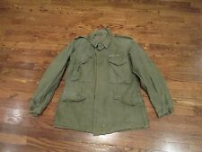 m43 field  jacket,od,us made, gi issue,USED,small short,good color,A to IDENTIFY