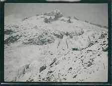Suisse, Glacier du Rhône (Furkapass), ca. 1910  Vintage silver print. Switzerlan