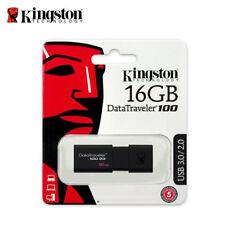 Kingston DT100G3 8GB 16GB 32GB 64GB Datos Viajero 100 G3 USB 3.0 Pluma Unidad