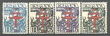 ESPAÑA. año 1941. PRO TUBERCULOSOS MUY CENTRADOS.NUEVOS.DE LUJO.SIN FIJA.