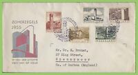 Netherlands 1955 Cultural and Social Relief Fund set First Day Cover