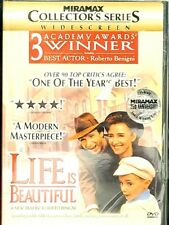 Life Is Beautiful Dvd 1999 Collector's Series Widescreen Brand New / Sealed