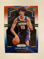2019-20 Panini Prizm Jaxson Hayes Red White Blue Prizm SP Rookie Card #254 RARE!