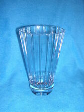 """Villeroy & Boch Paloma Picasso Design Ribbed Crystal Vase 7"""" and Stamped"""