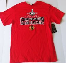 Chicago Blackhawks Stanley Cup 2015 Officially Licensed Youth T-Shirt NWT XL