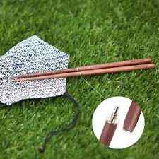 KingCamp Camping Foldable Chopsticks Backpacking Sandalwood Picnic Chop Sticks