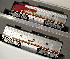 KATO 1762121 & 1762211 N F7A/B 2 LOCO SET Santa Fe Warbonnet 176-2121 176-2211