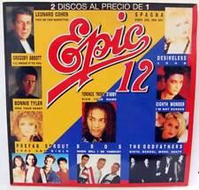 LP Epic 12. Leonard Cohen, Desireless, Bonnie Tayler, Azúcar Moreno...