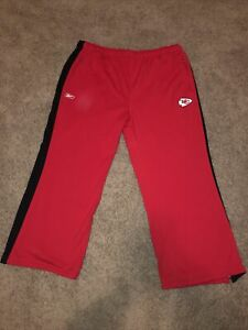 Reebok Authentic NFL Kansas City Chiefs Griptonite Warm Up Pants EUC Red Sz 4XL