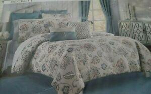 """Croscill """" Beckett"""" King  Comforter Set  NIP"""