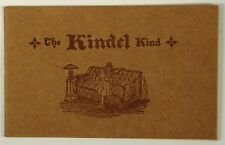KINDEL KIND BED COMPANY CATALOG OF HIDE AWAY BED COUCHES CA 1900