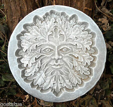 Greenman plaque plastic mold concrete mold plaster mould