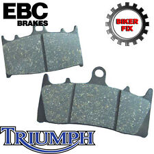 Triumph Speed Triple (1050cc) 05-07 Ebc Trasera Freno De Disco almohadillas fa214/2