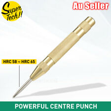 """125mm/5"""" Automatic Centre Punch Adjustable Spring Loaded Metal Drill Tool"""