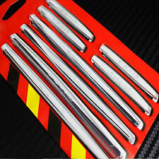 Car Doors Protection Edge Guard Transparent PVC 8 Anti-Scratch Rub Strips Bumper