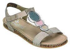 Rieker Damen-Sandalen & -Badeschuhe aus Echtleder in Größe 42