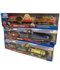 Thomas & Friends: GOLDEN THOMAS, GUSTAVO, RAUL + EMERSON Trackmaster SET 75th